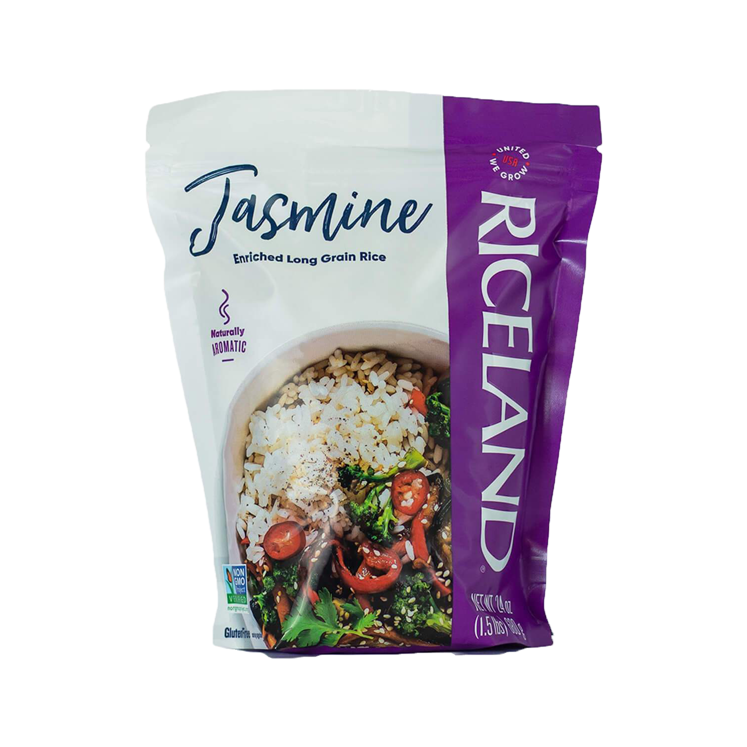 Jasmine Rice Resealable Pouch