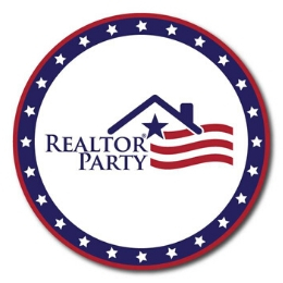 realtor party badge