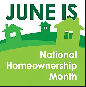 National Homeownership Month